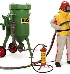 Shot blasting to customers' requirements